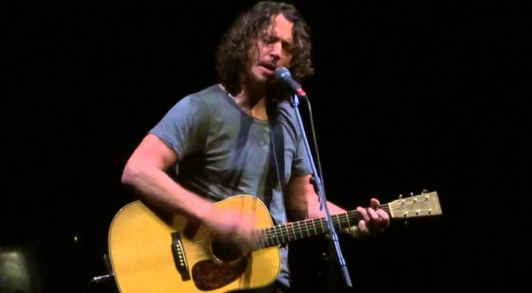 """One (U2 Music with Metallica Lyrics)"" Chris Cornell"